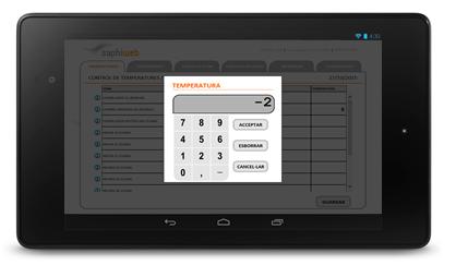Registra o valida directamente en el programa de gestión APPCC SAPHI.